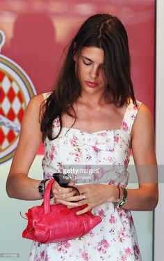 Charlotte Casiraghi, niece of Prince Albert II of Monaco, is seen during the Monaco Formula One Grand Prix at the Monte Carlo Circuit on May 24, 2009 in Monte Carlo, Monaco.