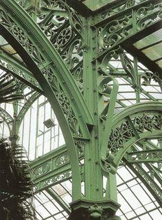 Interior braces, Royal Greenhouse, Laeken, Brussels, Belgium