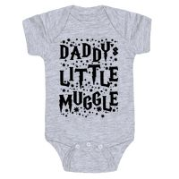 Daddy's Little Muggle Baby