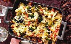 Slimming World's cheesy broccoli bake