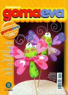 Revista de Goma eva gratis Foam Crafts, Diy Crafts, Craft Foam, Toy Boxes, Album, Christmas Ornaments, Holiday Decor, Craft Books, Download