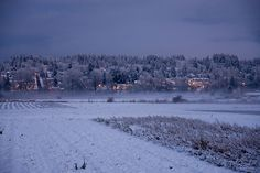 Winter across the valley, Duvall, WA