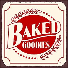 Vintage Metal Art 'Baked Goodies' Decorative Tin Kitchen Sign | Overstock.com Shopping - The Best Prices on Wall Hangings