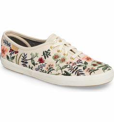 85d02bdb9 Keds® x Rifle Paper Co. Herb Garden Embroidered Sneaker (Women)