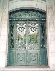 Arquitectura de Casas: Puertas antiguas