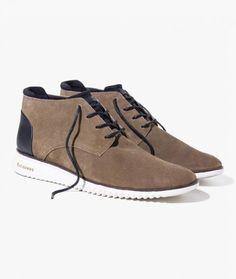 fd886d2d7 BOTA TENIS VENTURA | Richards - A bota e produzida em nobuck . A peca modelo