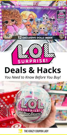 Wanna know where to find the L.OL. Surprise! deals for the glamorous kids and grade-schoolers in your life this year? Not sure how to tell the fake L.O.L. Surprise! Dolls apart from the real ones? No worries — The Krazy Coupon Lady is here to help you finish your Christmas list cheap by find the best deals on L.O.L. Surprise! Dolls, including the O.M.G. Movie Magic Studios and Amazing Surprise Ultimate Unboxing Experience. Get your best gift ideas list ready, you're gonna want to add these! Real One, Gift List, Christmas Bulbs, Best Gifts, Lol, Hacks, Entertaining, Holiday Decor, Best Deals