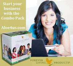 Join Forever Living today, purchase the Forever Living Combo Pack and start earning money. Most people start their Forever Living home based business with a Combo.
