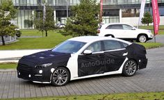 2014 Hyundai Genesis Sedan Spied for the First Time. For more, click http://www.autoguide.com/auto-news/2012/12/2014-hyundai-genesis-sedan-spied-for-the-first-time.html