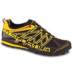 La Sportiva Anakonda Trail Running Shoe - Men's Black/Yellow, 44.0 *** Want additional info? Click on the image.