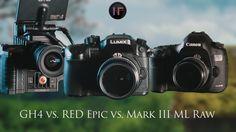 Panasonic GH4 vs. RED Epic vs. 5D Mark III Raw