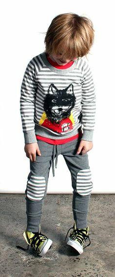 Super Wolf Stripe