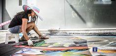 Bilder der Asphalt Oasen in Graz, Annenstraße vom 9.8.2014. Zwei Tage lang wurde die Annenstraße zum Atelier. #Asphalt #Oasen, #Graz #Annenstraße, #Straßenkunst, , #Nature #Reclaims #The #City, #lokale, #internationale #Künstler, #Künstlerinnen, #Atelier,#Kunst, #Natur, #Asphalt, #Motto #Mexiko, #Italien, #Ukraine, #lebhaft, #Dschungel, #Bilder