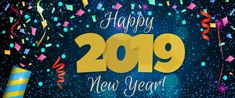 New Year 2018 banner Illustration , New Year 2018, Happy New Year 2019, High School Hacks, School Tips, Apply For College, Party Poppers, Student Portfolios, College Application, Banner