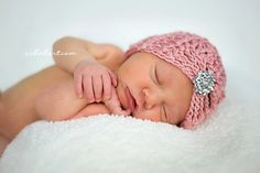 Crochet Pattern for Mia Beanie Hat - 5 sizes, baby to adult - Welcome to sell finished items - pinned by pin4etsy.com
