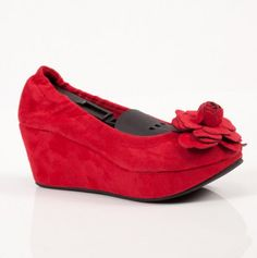 Avant Wedge Shoes by Good Choice - Cute for Valentine's Day