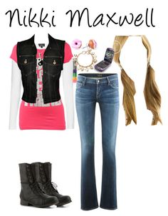 """Dork Diaries: Nikki Maxwell"" by katiemiller-v on Polyvore featuring Topshop, Citizens of Humanity, Wet Seal, Carolina Glamour Collection, Jean-Paul Gaultier, Madden Girl, Forever 21, women's clothing, women and female"