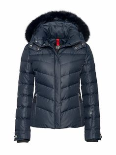 DOWN SKI JACKET SALLY in Blue for Women | BOGNER UK
