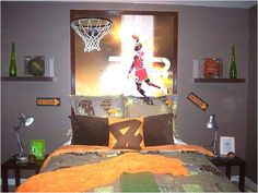 Dormitorios tema baloncesto
