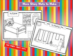 addition story mats