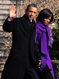 Image detail for -... and first lady michelle obama depart the white house in washington