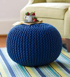 blaues bodensitzkissen sitzkissen gemütliches ambiente pouf sitzkissen bodenkissen