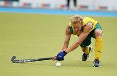Australian hockey player and bronze Olympic medal winner Tim Deavin