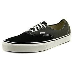 Vans Unisex Authentic (Vintage 2-Tone) Blk/Chrcl Skate Shoe 11.5 Men