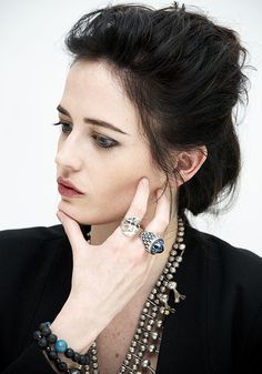 Eva Green at the press conference for 300: Rise of an Empire