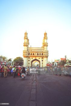 Stock Photo : Char Minar, Hyderabad, India - After Sunset Amazing Places In India, Incredible India, Any Images, India Travel, Still Image, Hyderabad, Royalty Free Images, Big Ben, The Good Place