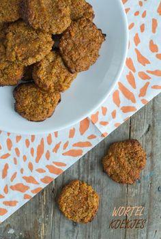 Gezonde wortelkoekjes   recept via BrendaKookt.nl