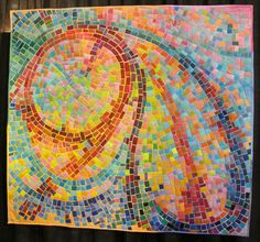 It is hard to believe that this is a quilt!  Art Quilts at the International Quilt Shows - Travel Photos by Galen R Frysinger, Sheboygan, Wisconsin