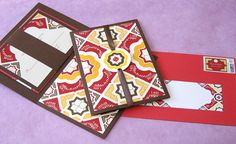 Rich Mexico Wedding Color Palette: Red, Brown, Gold and Ivory