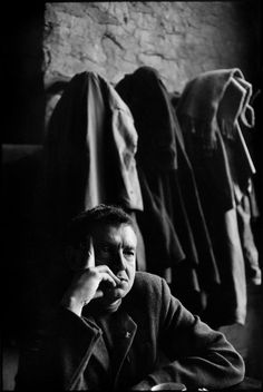 Magnum Photos - Henri Cartier-Bresson // USA. 1962. US painter, Andrew WYETH.