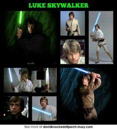 Luke Skywalker the best star wars character