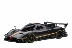 Amazon.com: AUTOart 1/18 Pagani Zonda Revolution (carbon black): Toys & Games