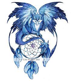 Winter Dream Dragon by TrollGirl on DeviantArt