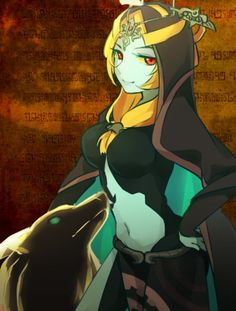 Midna is my absolute favorite female character, besides Zelda that is.