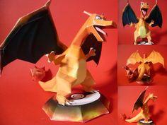 Easy Pokemon Papercraft | charizard papercraft by ~epikachu on deviantART