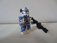 Lego star wars CUSTOM blue 501 clone wars ARC trooper Fives PRINTED . 1x arc trooper fives kama. 1x ARC trooper Fives pouldron. 1x high quality Arc Fives helmet with printed details (no stickers or water slides here). | eBay!