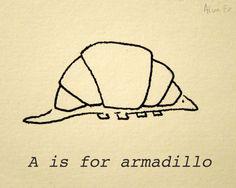 The Croissant Alphabet — About Creativity — Medium