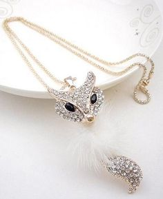 Korean Style Diamond /Woolen Necklace--Click on the picture link you will be able to get it, we support wholesale.