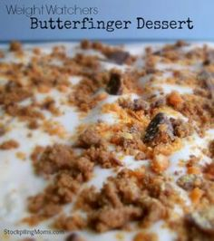Only 4 WW points in this delicious low fat dessert.  A must pin!