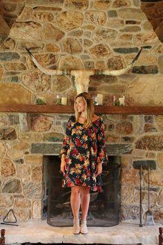 Adele's pretty Paper Crown swing dress