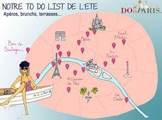 Parisian Summer to do list - par DoItInParis
