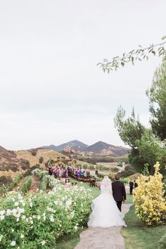 Southern California wedding venues - Chateau Le Dome at Saddlerock Ranch.  Wedding Photography by www.leahvis.com.