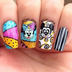these nails are super cute and would take a lot of time to do something that i don't really have