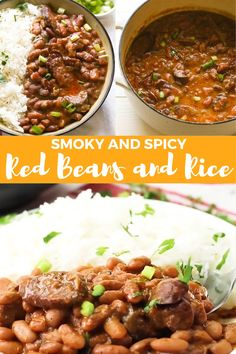 Easy Rice Recipes, Bean Recipes, Sausage Recipes, Veggie Recipes, Soup Recipes, Dinner Recipes, Healthy Recipes, Healthy Soup, Chili Recipes