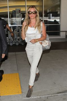 How to Wear Overalls Like a Celebrity This Summer: Celebrity Fashion in Denim Overalls