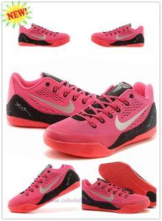 b747ab334ed7 Buy Cheap Womens Nike Kobe 9 Low Nine Red   Black